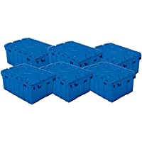 6-Pack Akro-Mils Plastic Storage and Container Tote