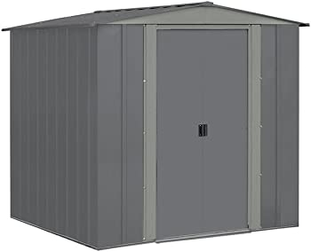 Arrow BRD6767GA 6'x7' Steel Storage Shed
