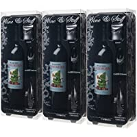 Woot Cellars Consumerus Holiday Red Wine with Metrokane Wine Accessory Gift Pack