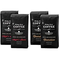 4-Pack Whiskey Barrel Whole Bean Coffee