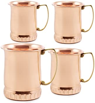4 Pc. Old Dutch Moscow Mule Mugs