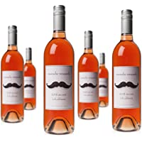 6-Pack Mustache Vineyards Zin Rose