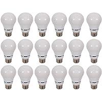 18-Pack Energetic Lighting A19 800 Lumen LED Lightbulb