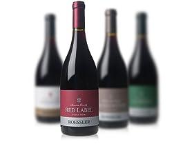 4-Pack Roessler Cellars Pinot Noir - Random