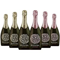 6-Pack Sophora Rose & Cuvee Mixed Sparkling