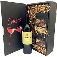 Hamilton Estates Merlot & Harry London Chocolates Gift Set