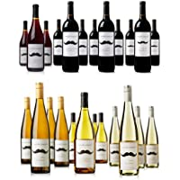 Mustache Vineyards 12-Pack Case (Red or White)