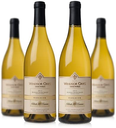 4-Pk. Windsor Oaks Russian River Valley Viognier