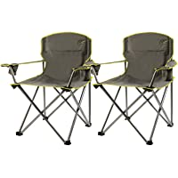 2-Pack Quik Chair Heavy Duty Camp Chairs