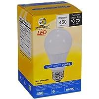 12-Pack Energetic Lighting 450 Lumen LED Lightbulbs