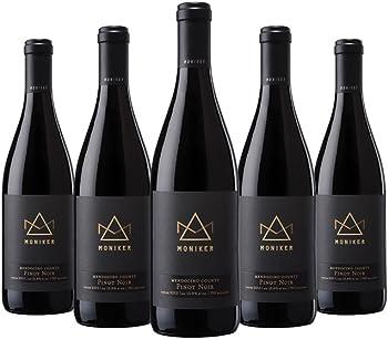 5-Pk.Moniker Mendocino County Pinot Noir