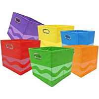 6-Piece Crayola CRY6BUN Storage Bins (Multi Colors)