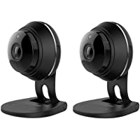 2-Pack Samsung SNH-V6414BMR HD Plus 1080p Wi-Fi IP Camera - Factory Reconditioned