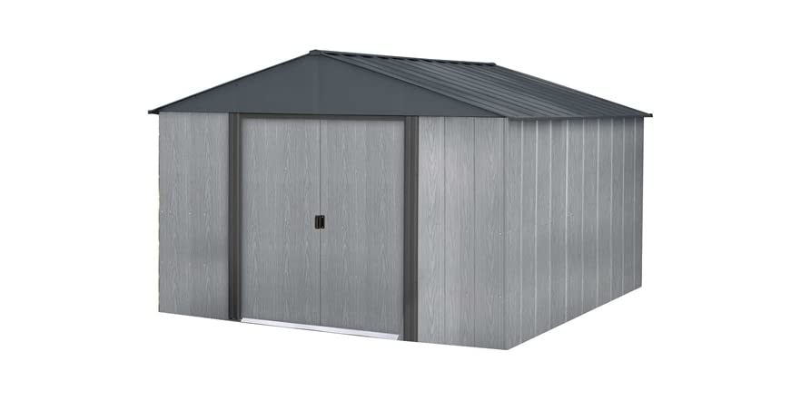 Arrow Shed 10' x 10' Driftwood Style Shed (Gray)