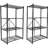 2-Pk.Origami R1407 4 Tier Storage Rack