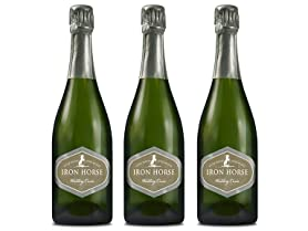 3-Pack Iron Horse Vineyards Wedding Cuvee