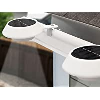 2-Pack Touch of ECO TOE044 Solar Gutter/Fence Lights