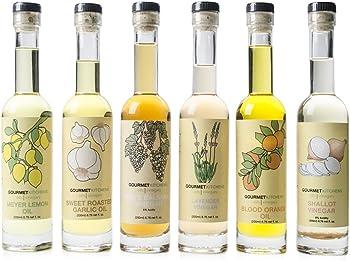 6-Pk. Gourmet Kitchen Oils and Vinegars