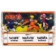 Naruto Mattel 3 Inch Mini Figure 3-Pack #3 (Naruto Uzumaki, Sasuke Uchiha & Sakura Har...