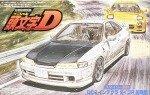 1/24 Initial D #15 Honda DC2 Integra type R (Initial type) by Fujimi