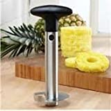 Ab Sales Stainless Steel Pineapple Corer - Hassle Free Pineapple Peeling And Slicing