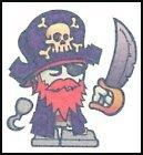Red Beard Temporary Tattoo
