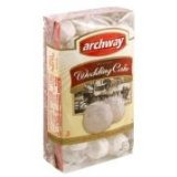 archway original wedding cake cookies archway wedding cake cookies 8 oz box 10812