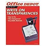 Office Depot(R) Write-On Transparency Film, Pack Of 100