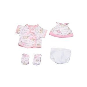 Dexter Toys DEX1504 Pink Clothing with Diaper for 15 in. Baby
