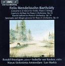Capriccio Brilliant in B minor (orchestra) op.22 Mendelssohn