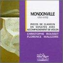 Mondonville: Pièces de clavecin en sonates for harpsichord & vio