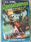 R.L. Stine Goosebumps Collectibles #4 Curly Say Cheese and Die! by Hasbro