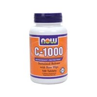 NOW Foods C-1000 with Rose Hips -- 100 Tablets