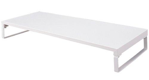リヒトラブ TEFFA 机上台W590・キーボードサイズ 白 A7332-0