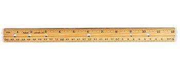 Charles Leonard® Cli Economical Wood Rulers
