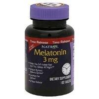 Natrol Melatonin Time Release Tablets 3 mg