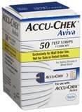 aviva diabetic test strips