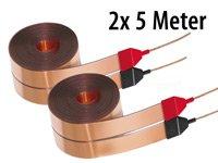 Dynavox Flachband-LS-Kabel 2 x 5m: Amazon.de: Elektronik