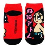 Lovely Cartoon Style Cotton Ankle Socks for Kids Girls-Astro Boy