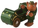 Mr. Frumble and Pickle Car From Busytown By Richard Scarry Brio