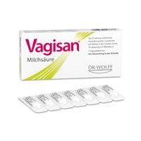 Vagisan Milchsäure Vaginalzäpfchen 7 stk