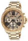 Michael Kors Ladies Wren Gold Tone Watch