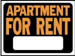 Apartment for Rent Sign [Set of 10]