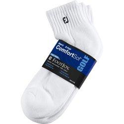 FootJoy ComfortSof Men's Quarter Socks  Shoe Size 7-12