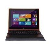 iRULU Walknbook - Portátil-tablet 2 en 1, Híbrido de 10.1 pulgadas, 32GB , Microsoft Windows 10, Teclado Desmontable Con Soporte, Color Naranja