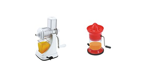 CME Combo Of Fruit And Vegetable Juicer Deluxe Plastic Handle And Orange Juicer