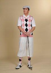 Edwardian Men's Pants Golf Knickers $65.00 AT vintagedancer.com