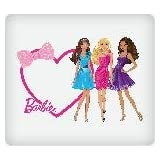 Barbie Heart And Bows Personalized Edible Image