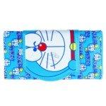 Doraemon Pattern Leather Hand Bag Purse/Wallet for Girl(Blue)