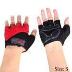 Aidy 1205 Outdoor Sports Road Pro Gel Half finger Gloves Riding Racing Accessaries with Palm Protection